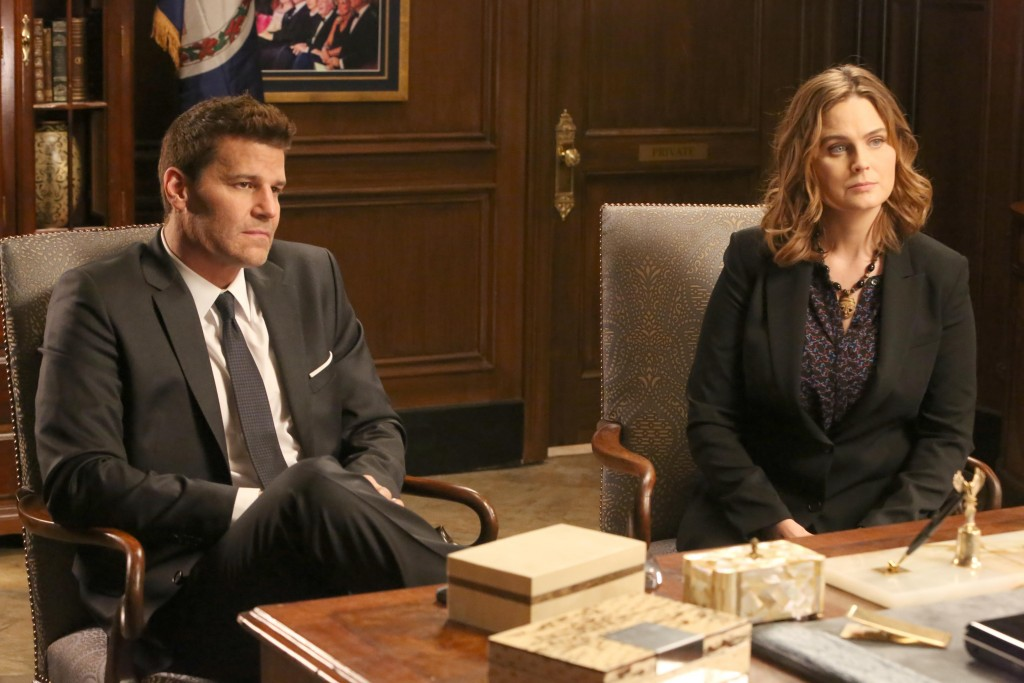 Bones, David Boreanaz, Emilt Deschanel