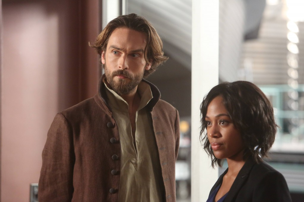 SLEEPY HOLLOW, Tom Mison and Nicole Beharie