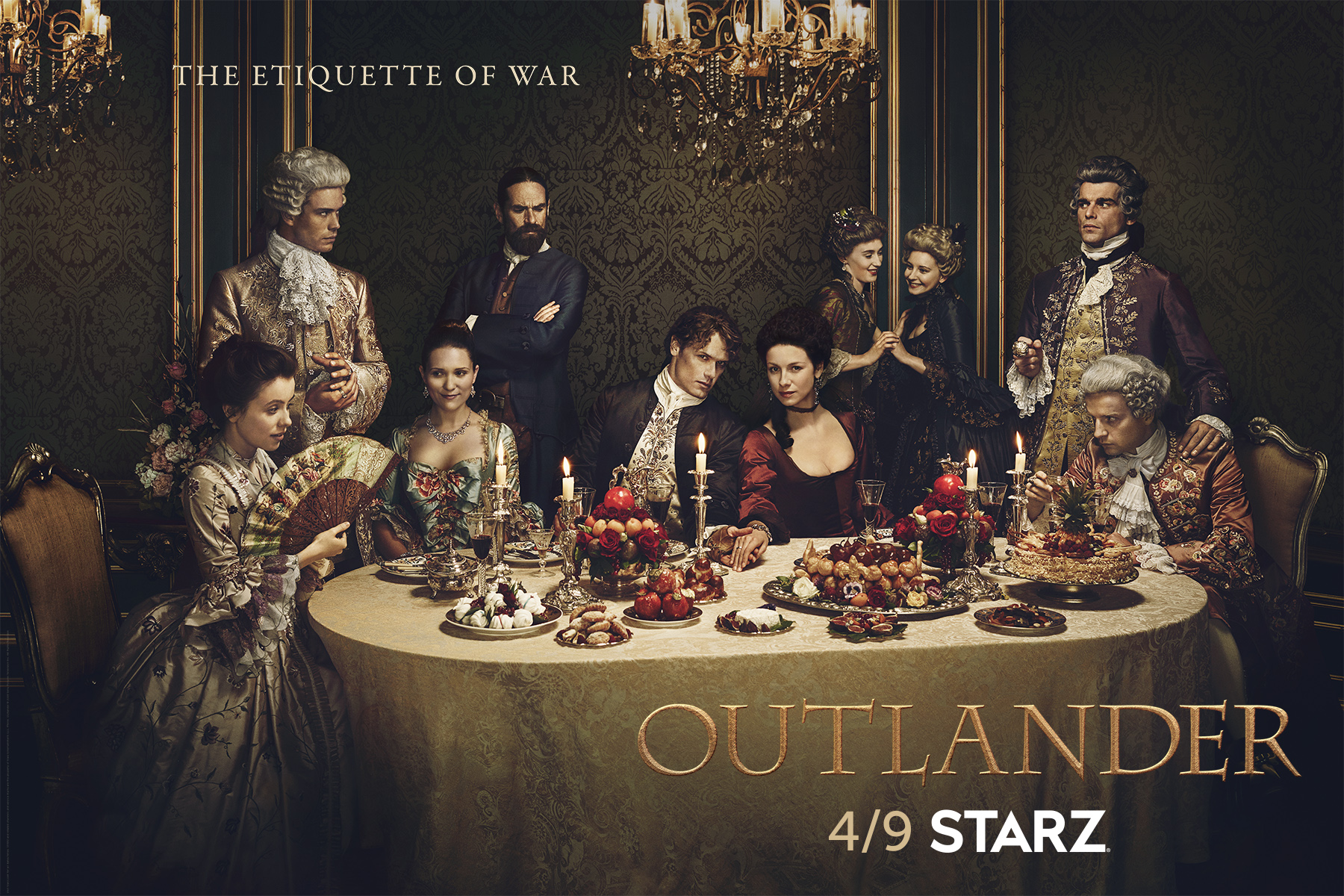 Outlander Season 2 - Etiquette of War