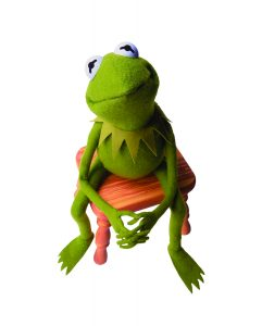 KERMIT THE FROG, upfront, the muppets