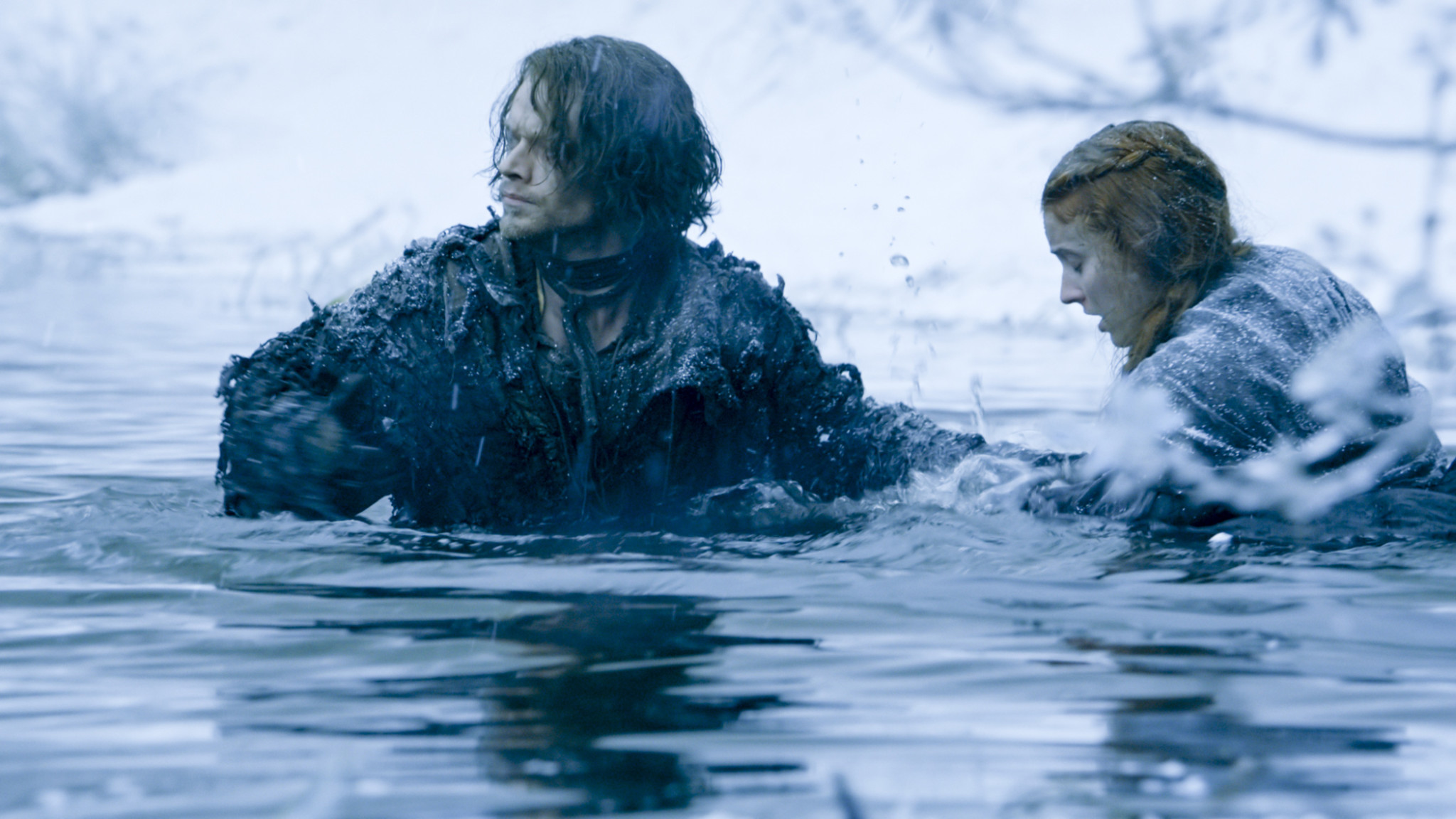 Game of Thrones Theon and Sansa