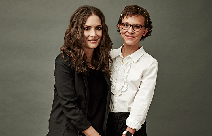 Stranger Things' Winona Ryder, Millie Bobby Brown