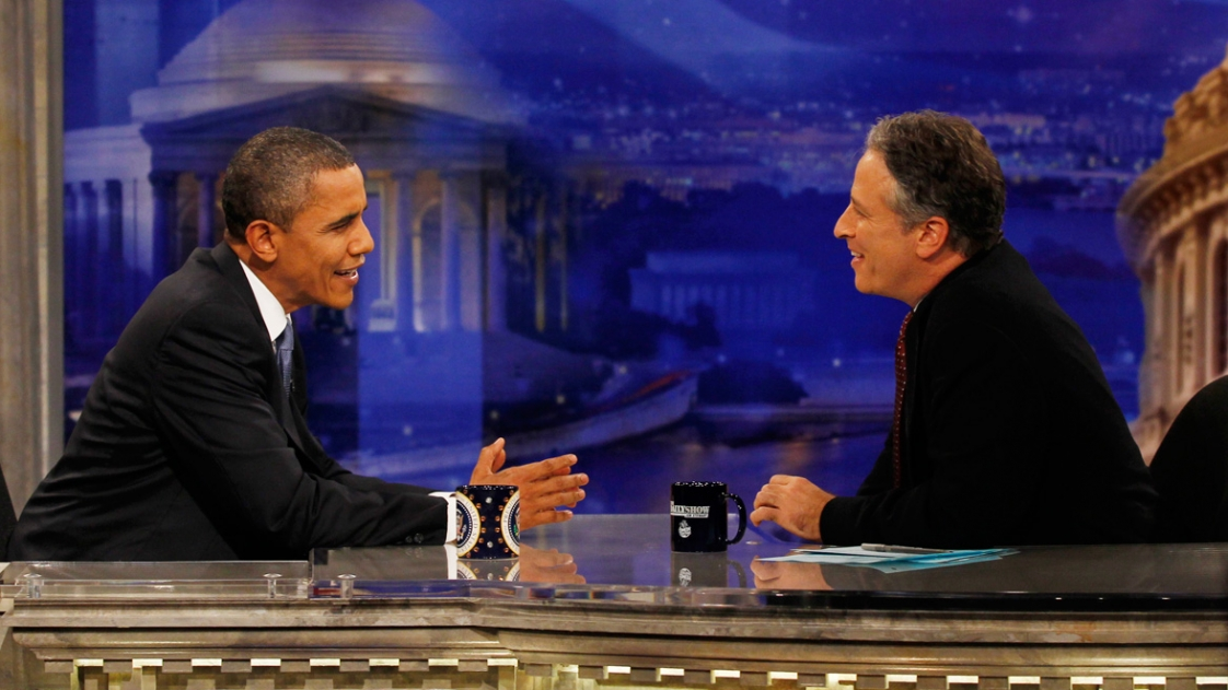 Interviews-Barack Obama & Jon Stewart