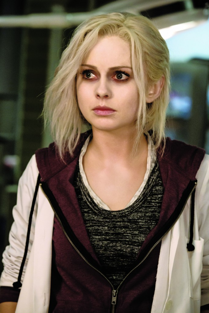 comic con, rose mciver, make up, izombie