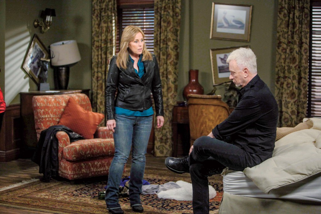 "Genie Francis, Anthony Geary ""General Hospital"" Set"