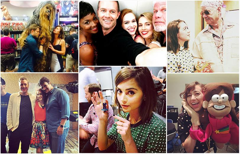 9 TV Stars Who Can't Resist Instagram at Comic-Con