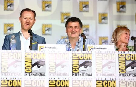 Mark Gatiss, Steven Moffat, Sue Vertue