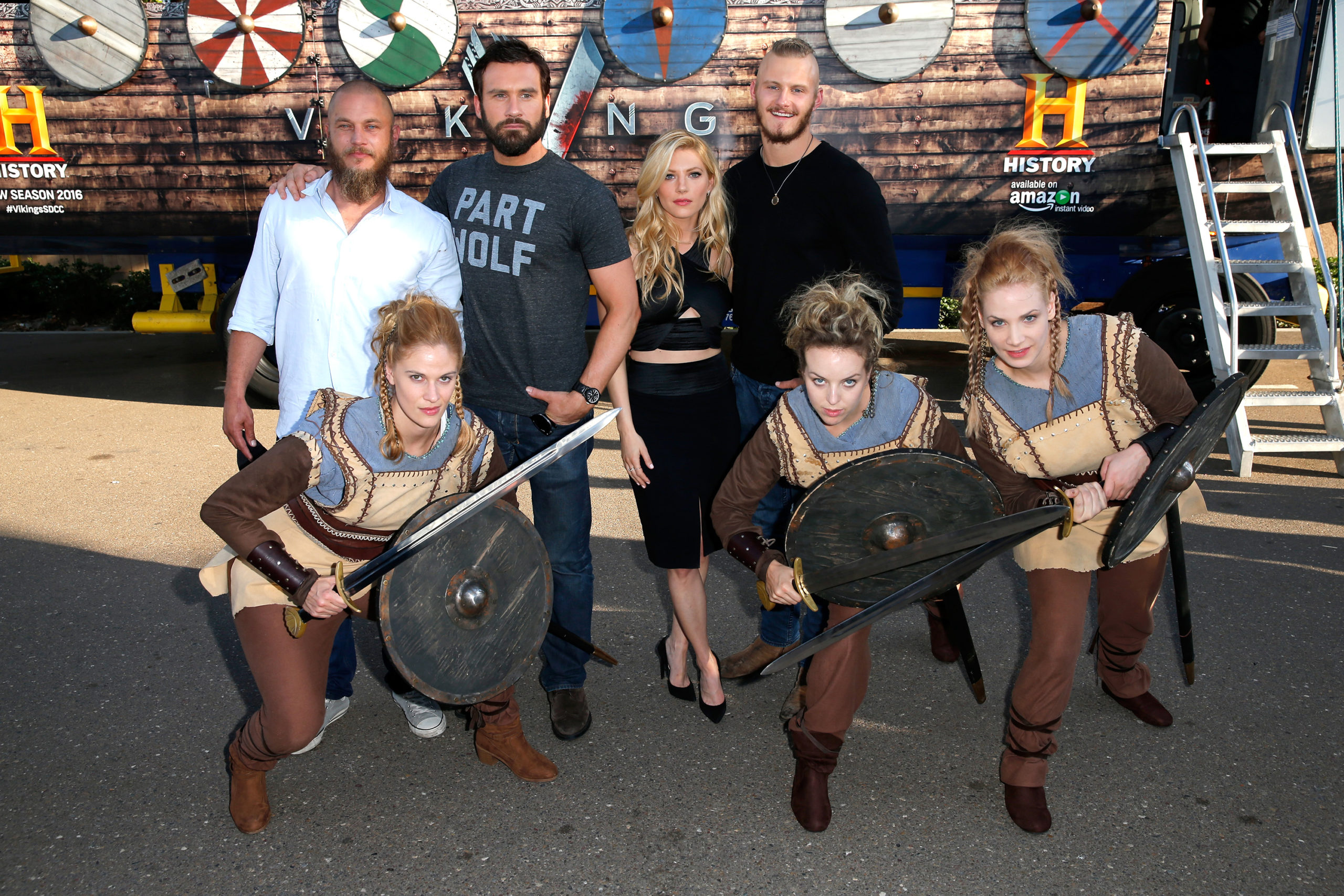 Vikings Cast at Comic-Con