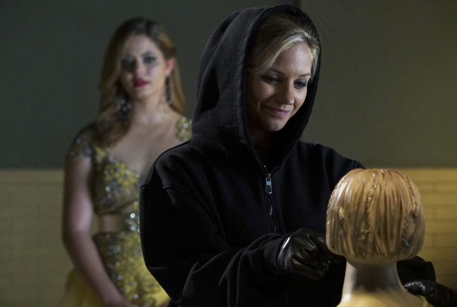 "Vanessa Ray as ""A"" on Pretty Little Liars"