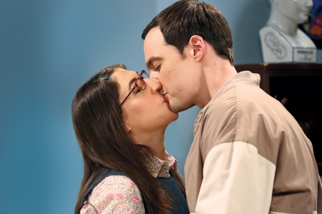 Sheldon Amy Kiss