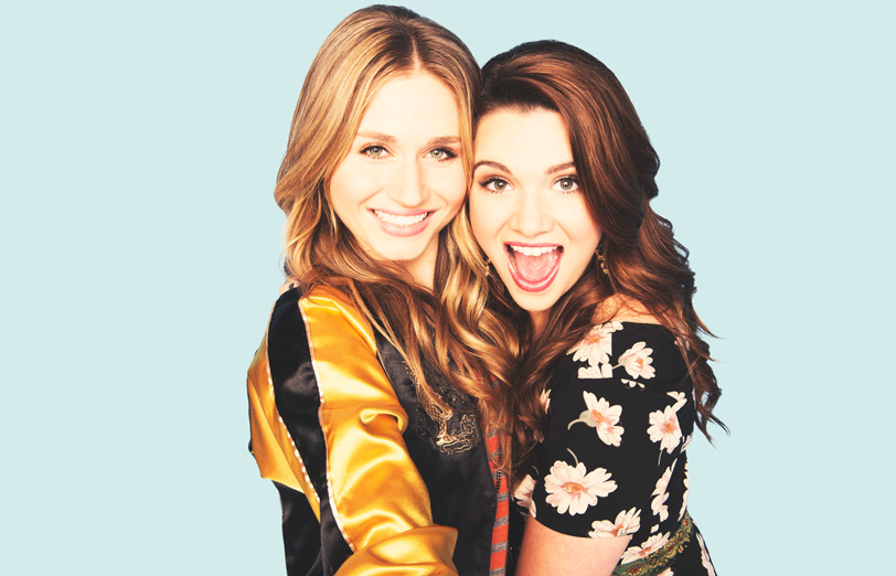 Katie Stevens and Rita Volk