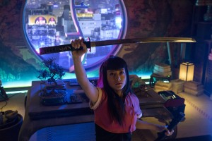 "HEROES REBORN -- ""Brave New World / Odessa"" Episode 101 -- Pictured: Kiki Sukezane as Miko Otomo -- (Photo by: Christos Kalohoridis/NBC)"
