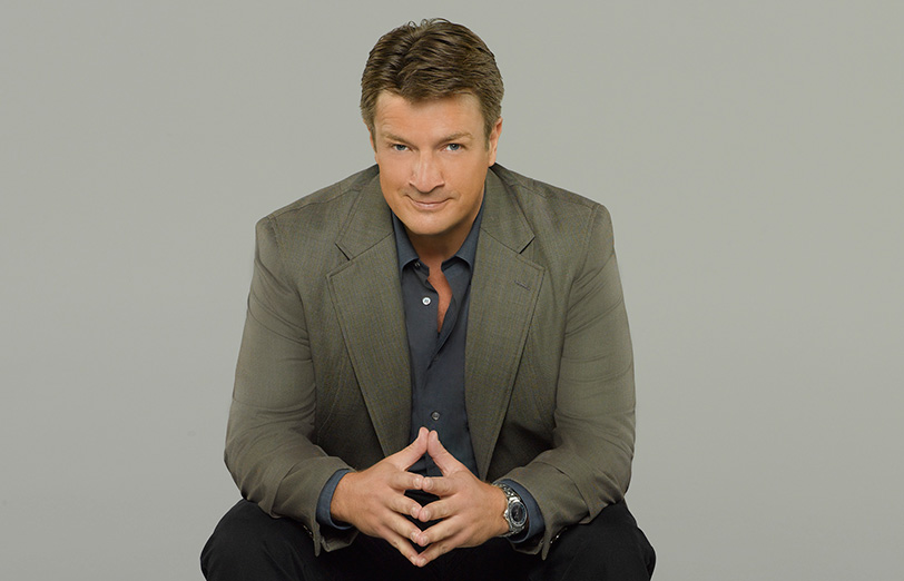 "CASTLE - ABC's ""Castle"" stars Nathan Fillion as Richard Castle. (ABC/Bob D'Amico) Leading Men"