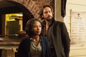 Tom Mison and Nicole Beharie - Sleepy Hollow
