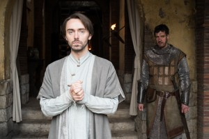 The Last Kingdom | Episode Two © Carnival Film & Television Ltd Photographer: Joss Barratt David Dawson (as Alfred) with Adrian Bower (as Leofric)