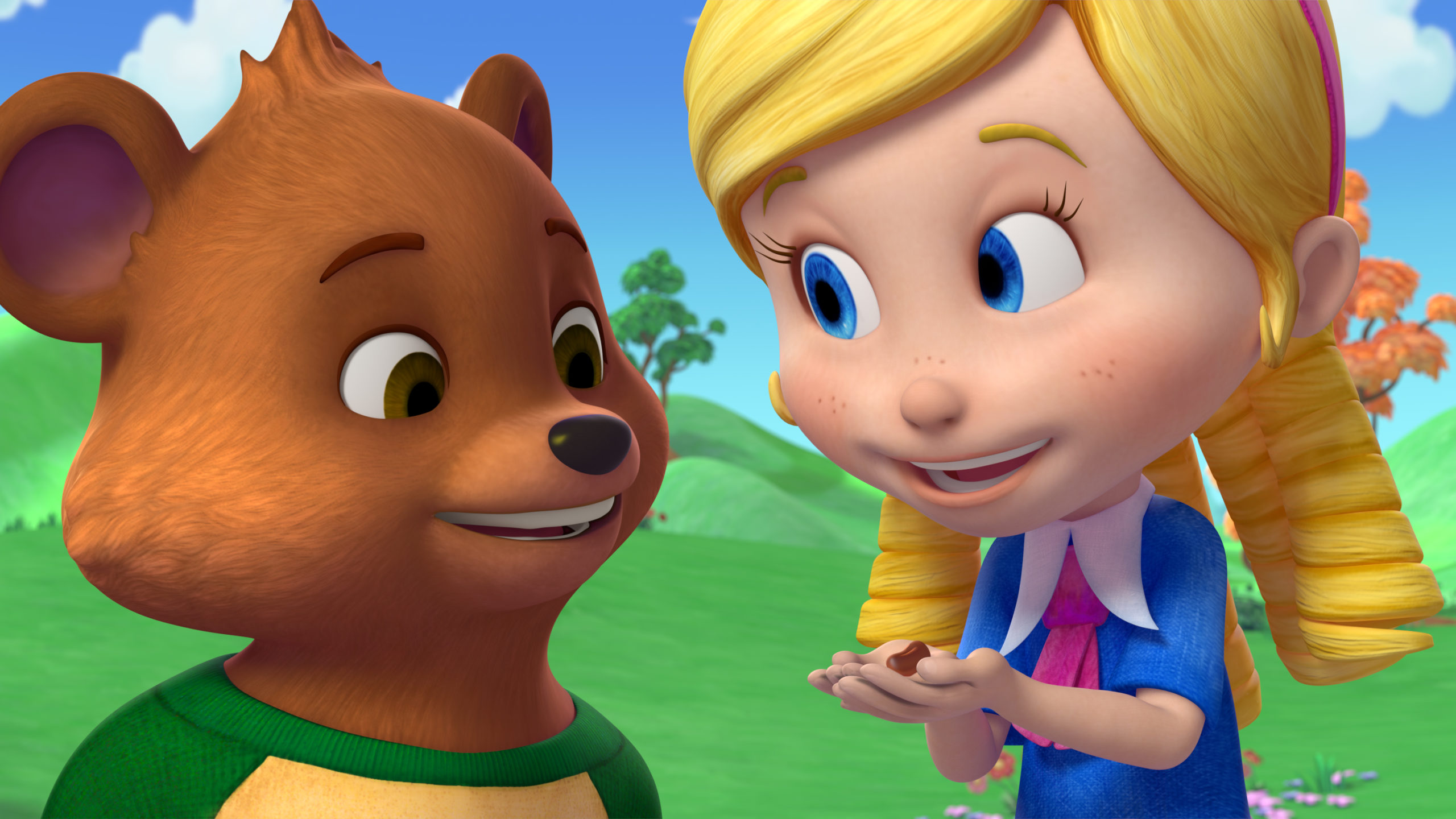 Goldie and Bear on Disney Junior