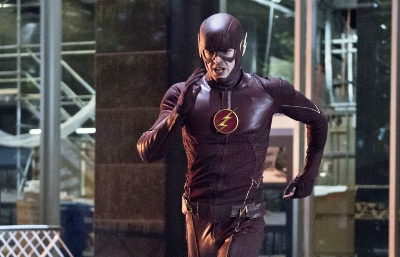 Grant Gustin as the Flash on The CW