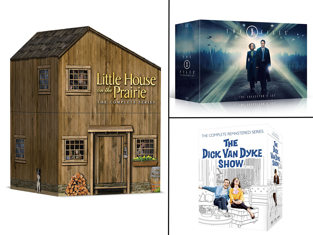Little House on the Prairie, X-Files, The Dick Van Dyke Show