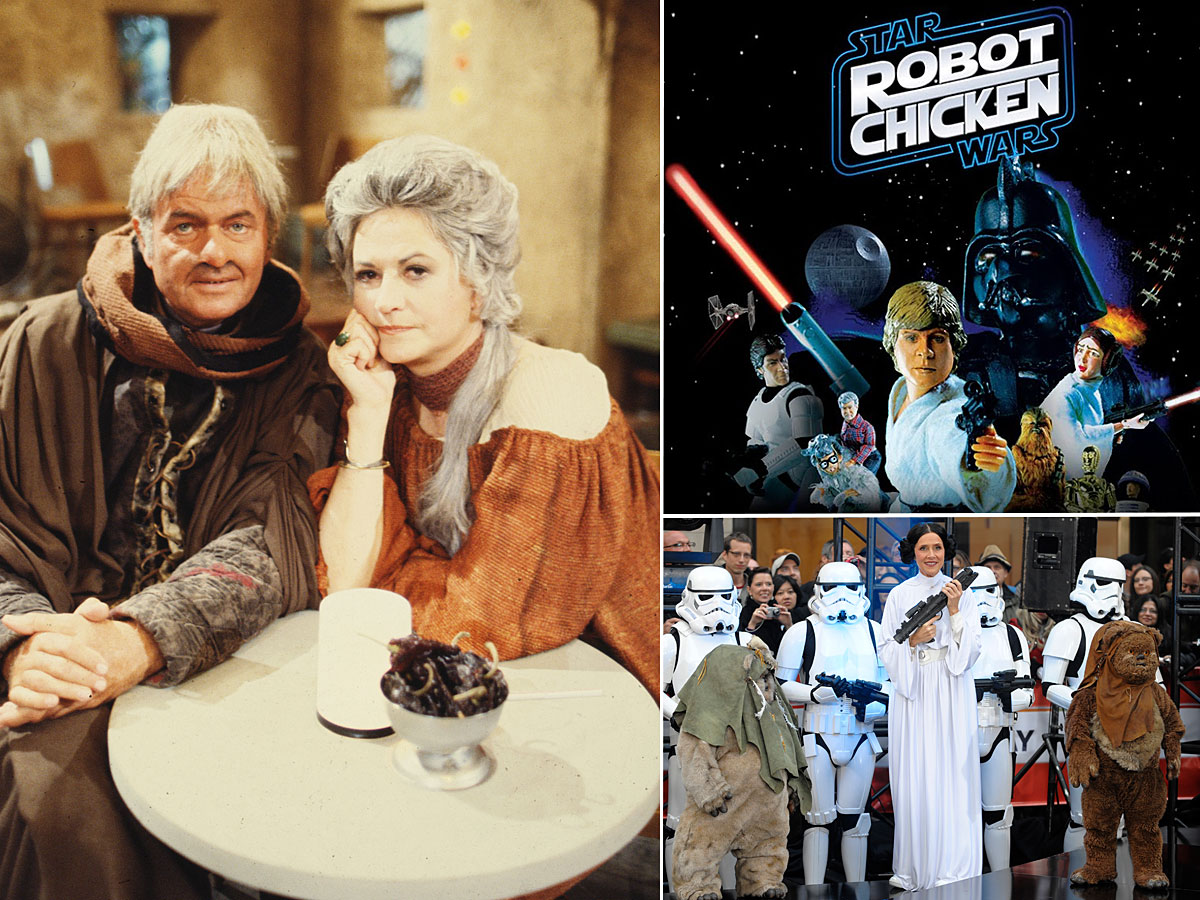 Star Wars Holiday Special, Star Wars Robot Chicken, Today Show