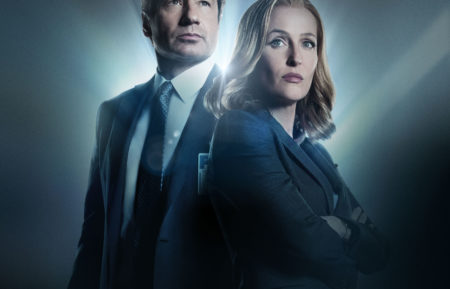 X-Files Mulder and Scully in New Season