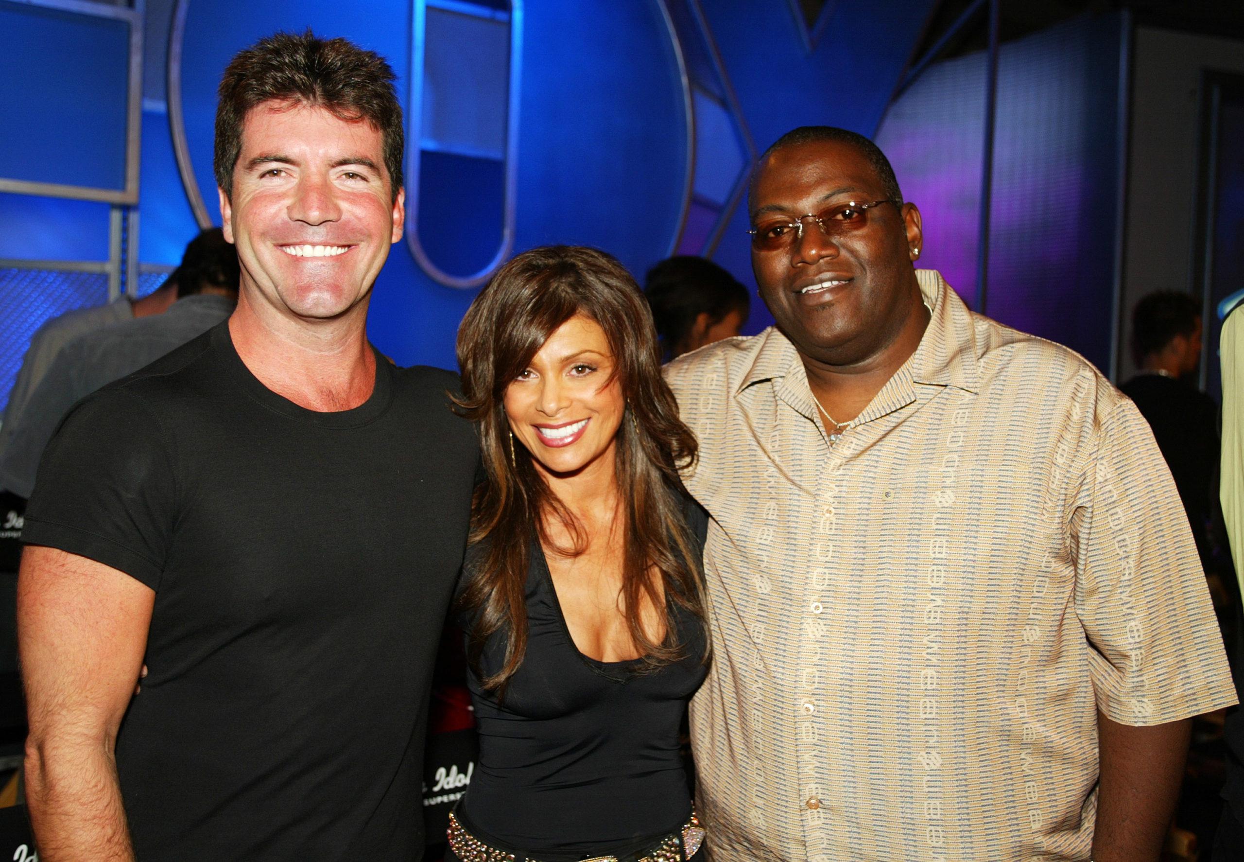 merican Idol judges Simon Cowell, Paula Abdul, Randy Jackson