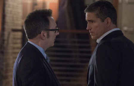 Person of Interest, Michael Emerson and Jim Caviezel