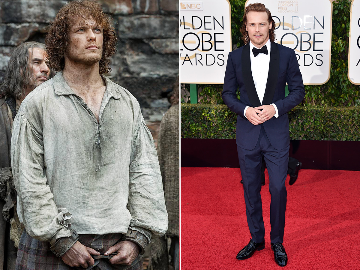 Sam Heughan, Golden Globes 2016