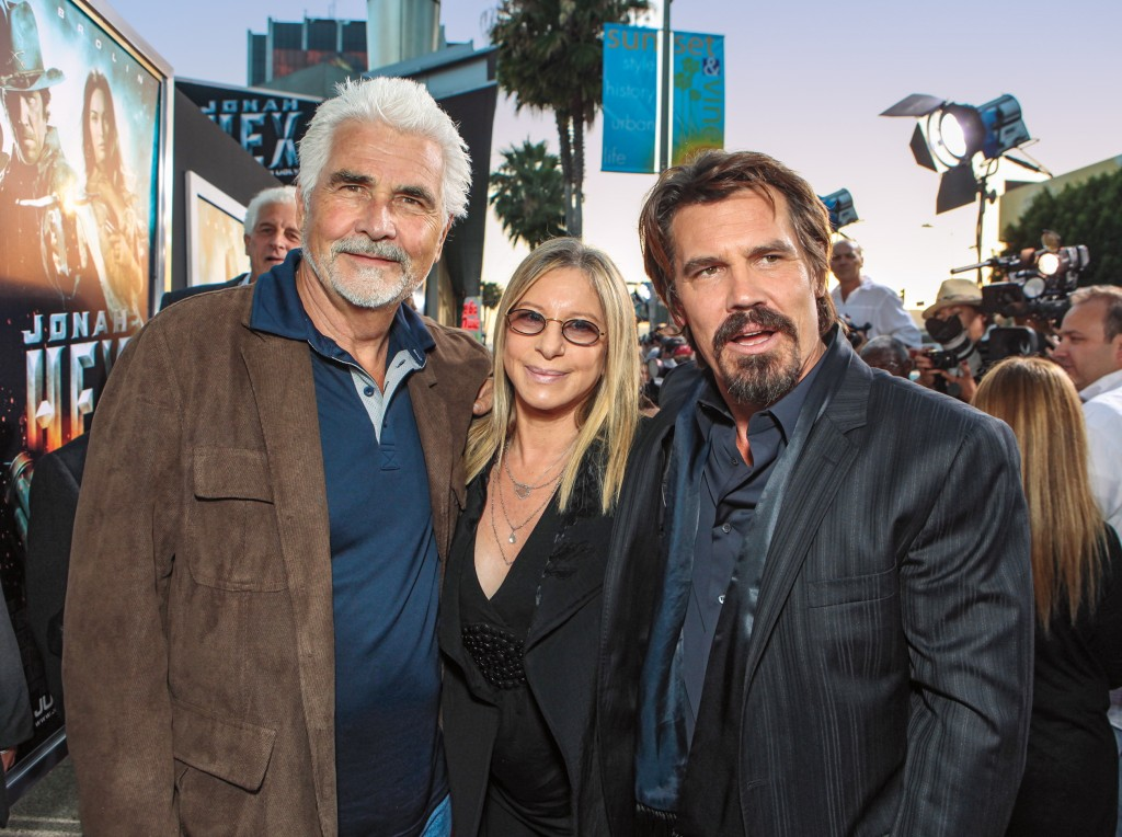 James Brolin, Barbra Streisand and Josh Brolin