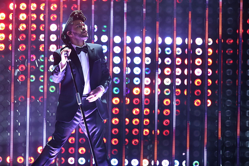2016 Grammys - The Weeknd