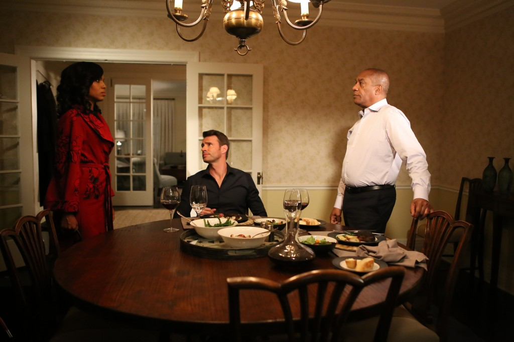 Scandal, Kerry Washington, Scott Foley, Joe Morton