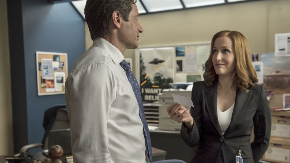 Gillian Anderson won't be back after X-Files' 11th season