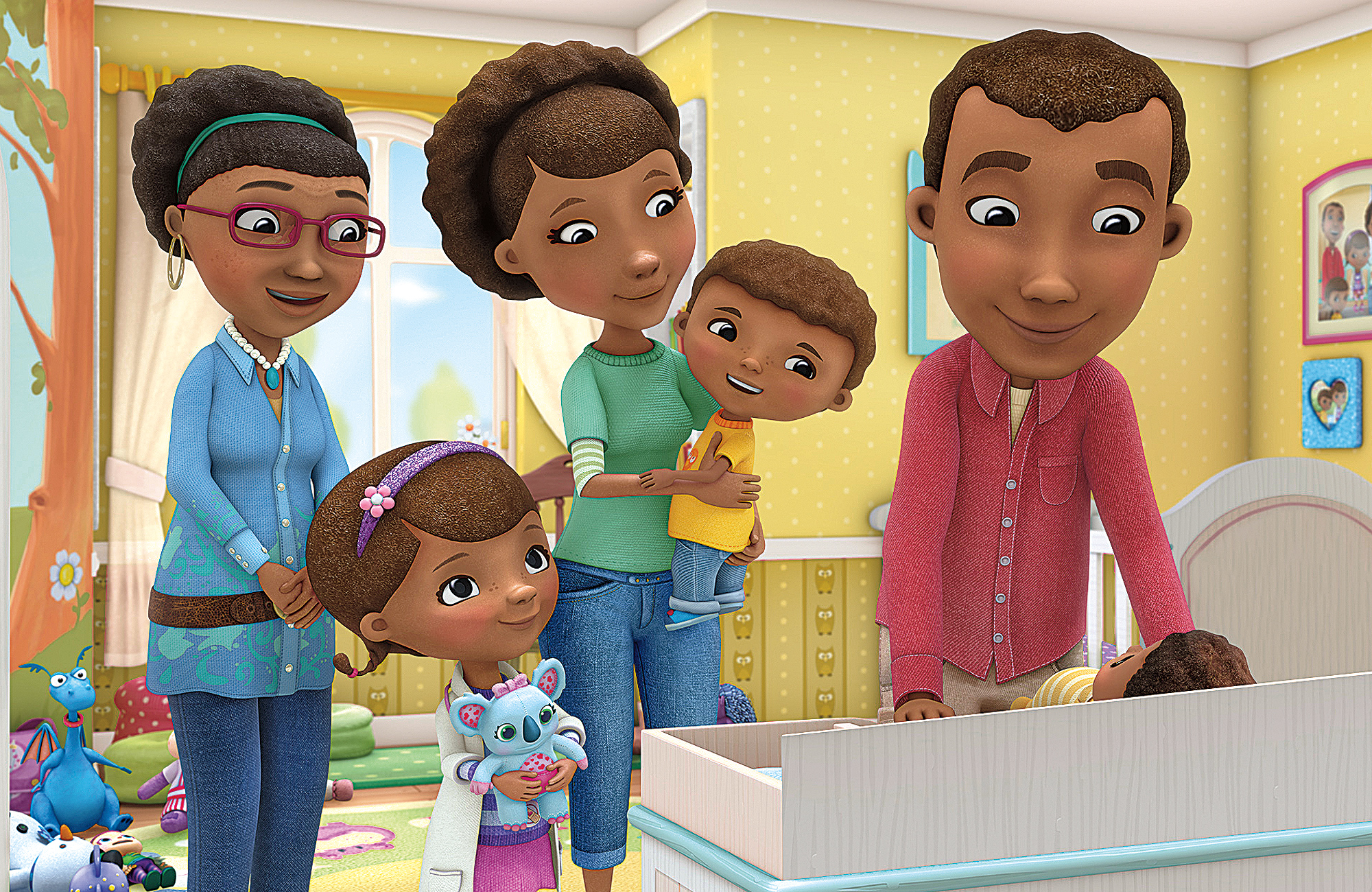 Disney Junior's Doc McStuffins Brings Big Ideas (Adoption! Transfusions!) to Little Viewers (VIDEO)