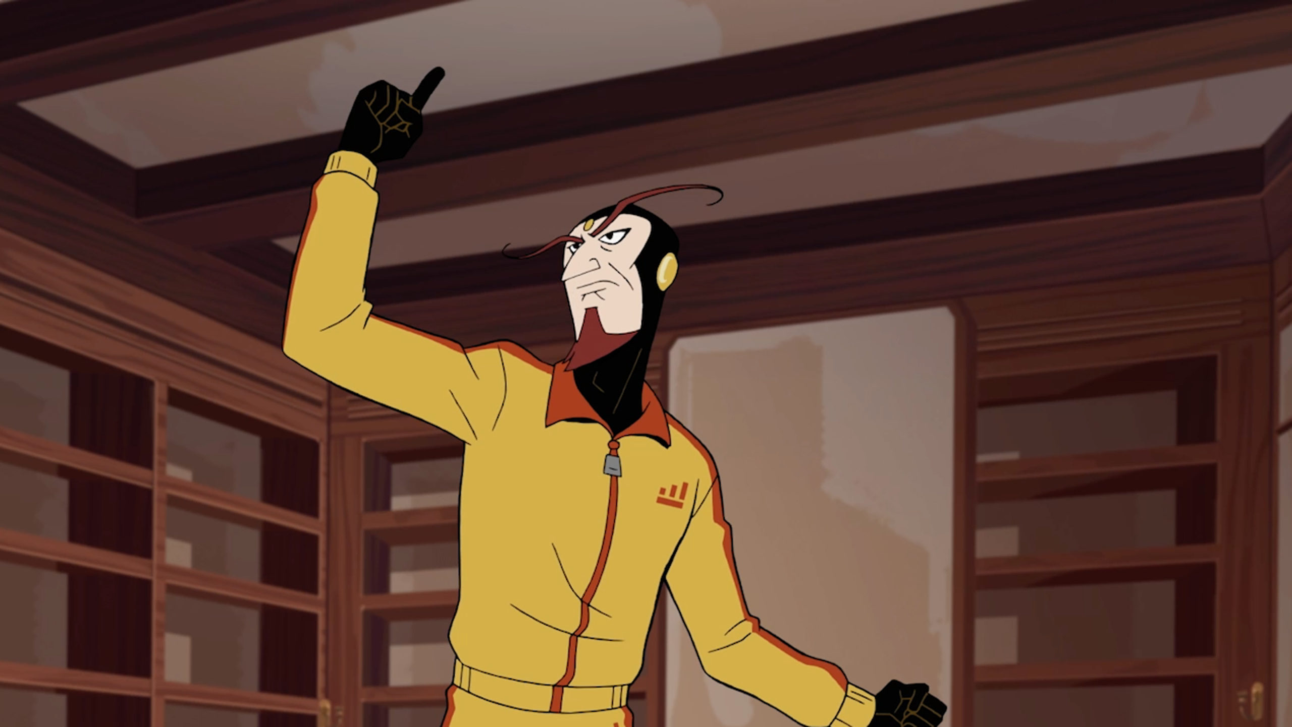 Venture Bros Monarch