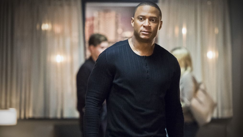 'Arrow': David Ramsey Reveals That Diggle's Drug Secret 'Is Not an Addiction Story'