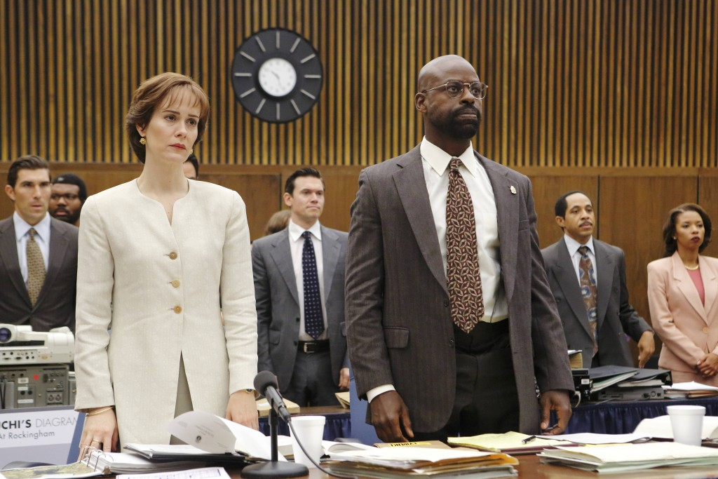 The People Vs. OJ Simpson, Sarah Paulson, Sterling K Brown