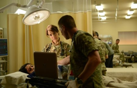 The Night Shift, Jennifer Beals, Brendan Fehr