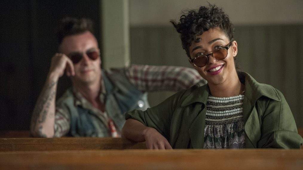 Preacher Ruth Nega and Joseph Gilgun