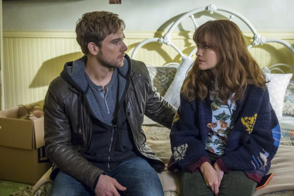 Max Thieriot and Olivia Cooke