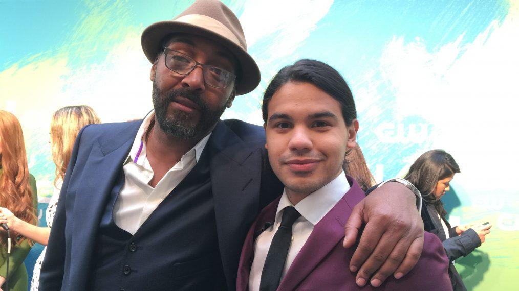 Jesse L Martin and Carlos Valdes