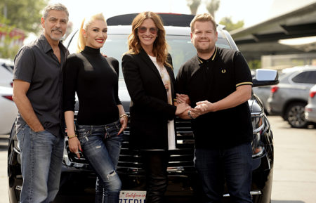 James Corden Carpool Karaoke with Gwen Stefani, George Clooney and Julia Roberts