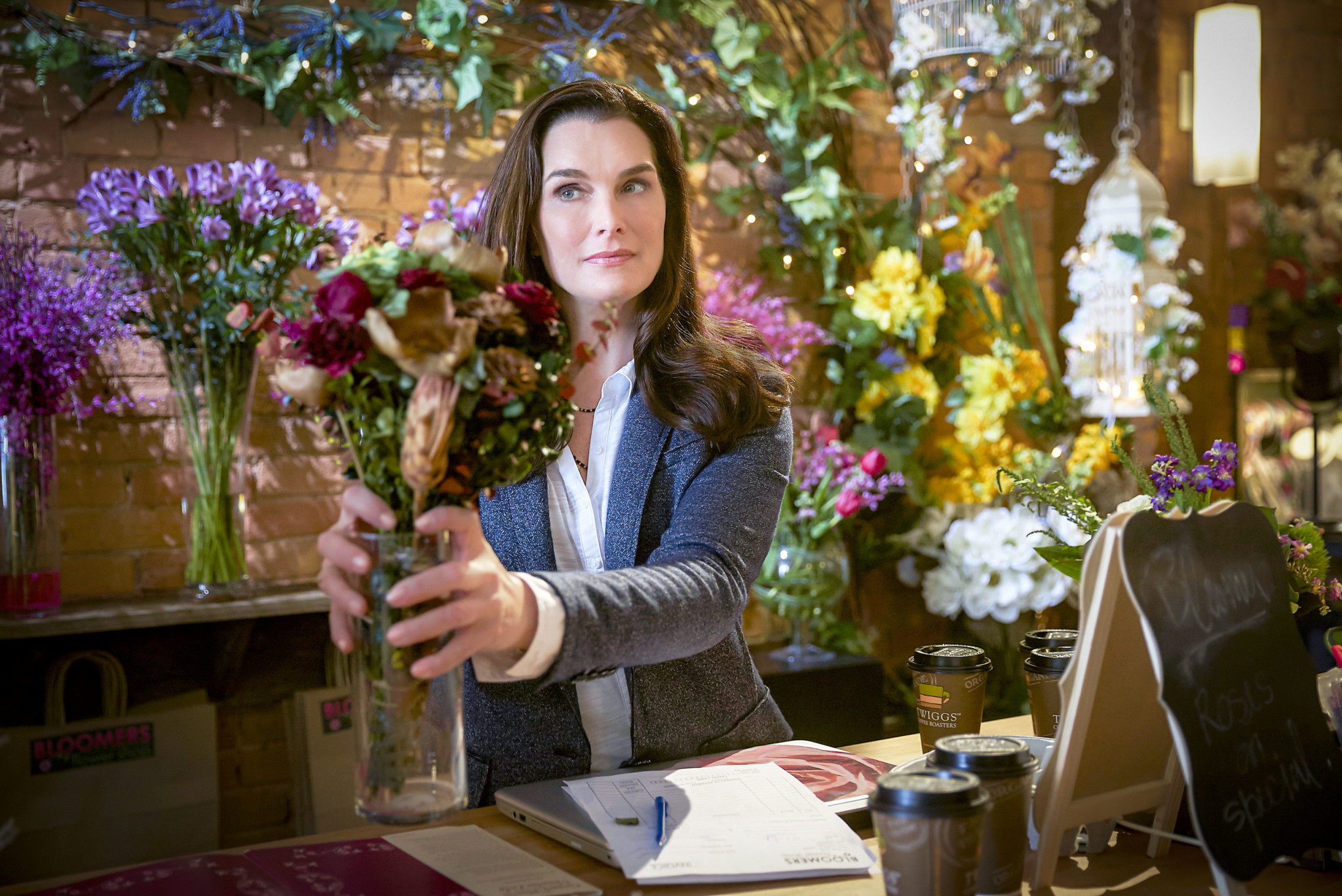 Flower Shop Mystery, Brooke Shields
