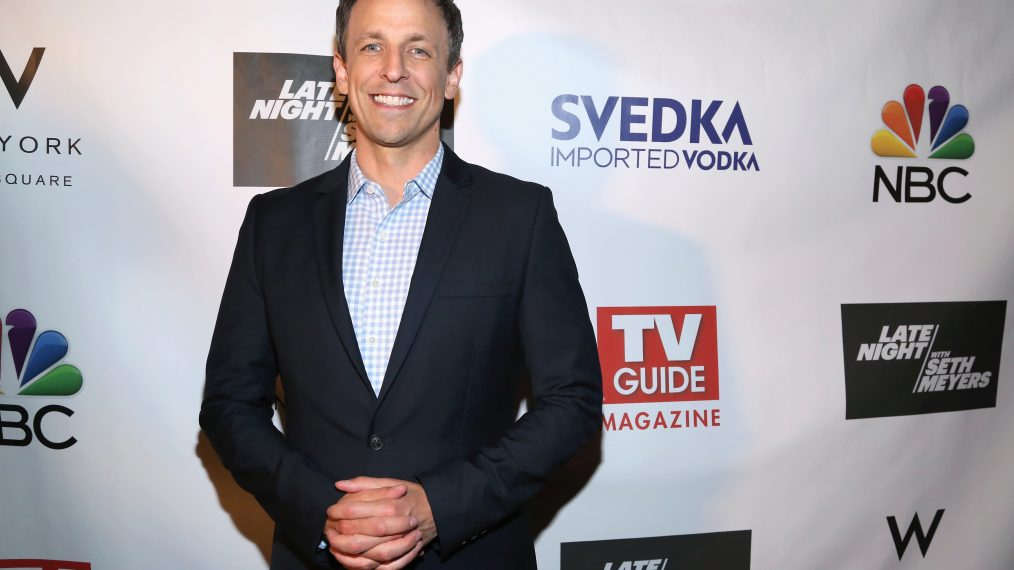 TV Guide Magazine Celebrates New Cover Star Seth Meyers