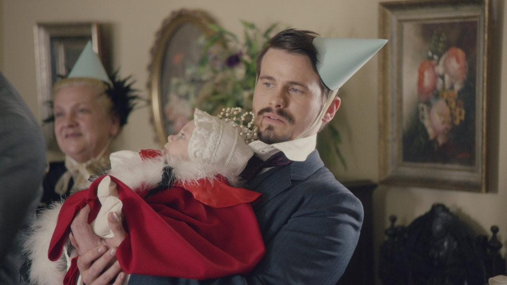 Jason Ritter plays the not-so-bright Frederick Bellacourt.