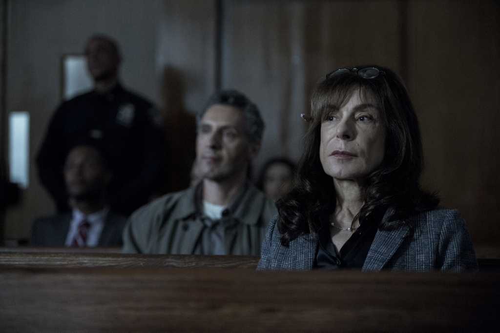 Jeannie Berlin plays the prosecutor in Nas's case.
