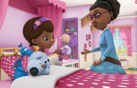 STUFFY, CHILLY, DOC, HALLIE, GRANDMA MCSTUFFINS