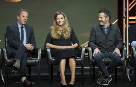 KIEFER SUTHERLAND, NATASCHA MCELHONE, SIMON KINBERG (EXECUTIVE PRODUCER)