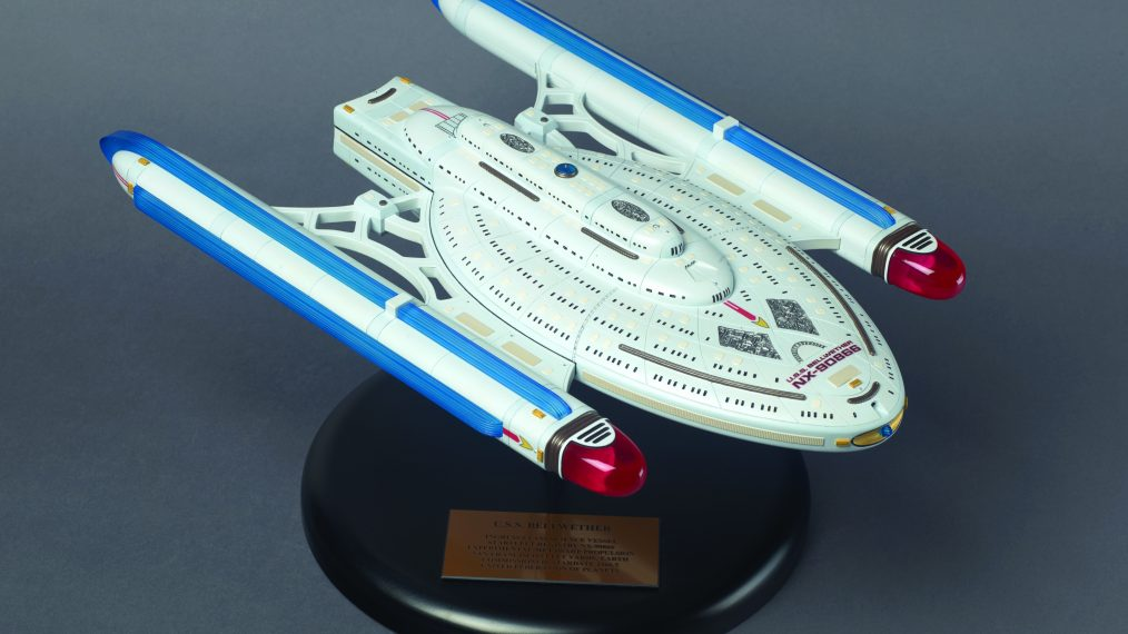 Norton's sculpture - Star Trek 50 art