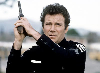 William Shatner as TJ Hooker