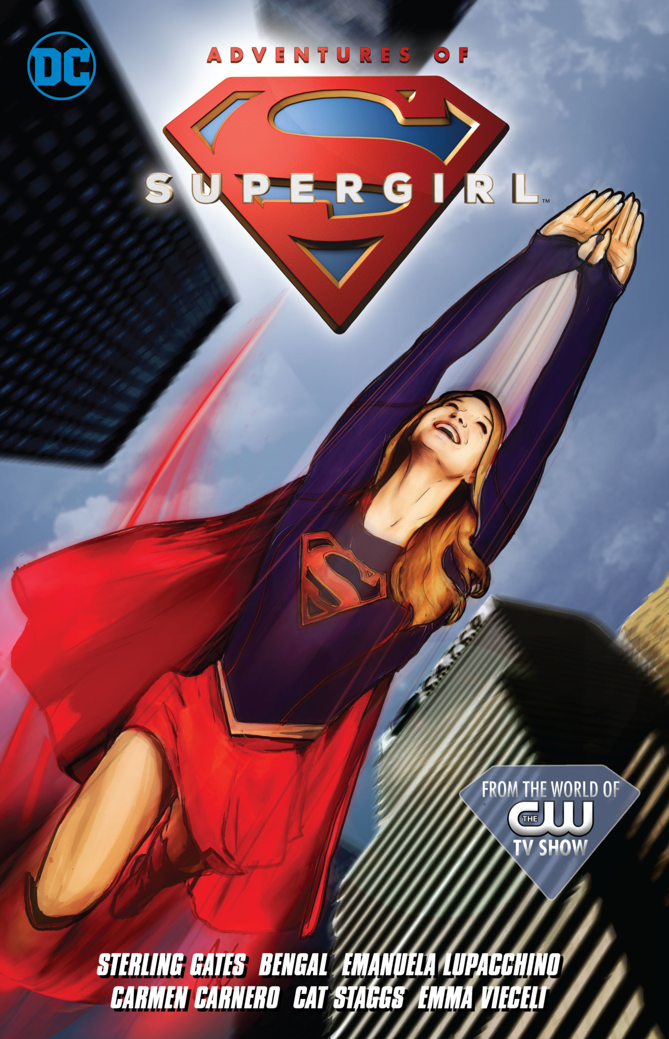 Adventures of Supergirl graphic novel cover from DC Comics