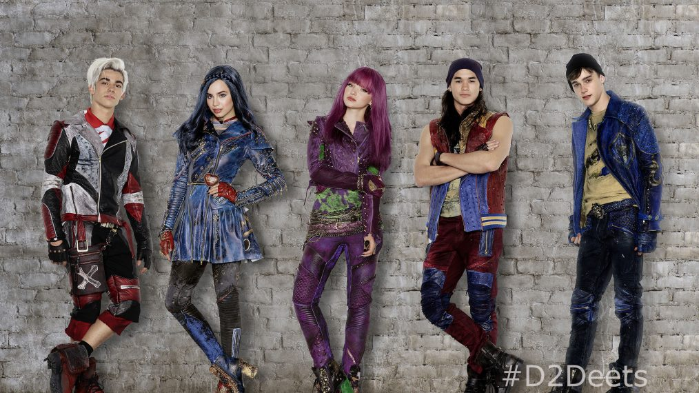 Descendants 2: First Look at the Kids in the Sequel to Disney's Hit Movie